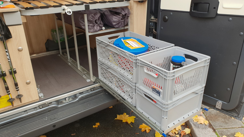 Vollauszug im Wohnmobil selber bauen - womoliebe.de
