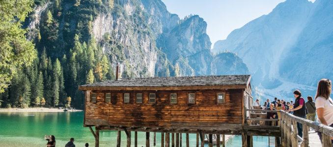 Hochpustertal – Ausflug mit dem Wohnmobil zum Pragser Wildsee