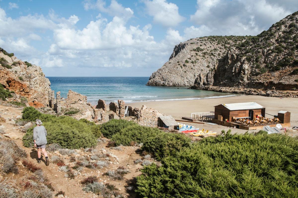 Lost Places auf Sardinien in der Cala Domestica