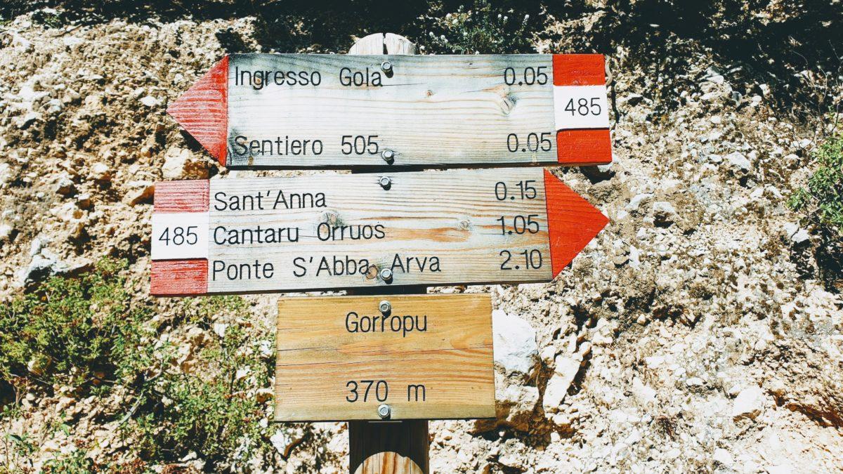Wanderung zur Gola di Gorropu