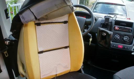 Sitzheizung im Wohnmobil einbauen
